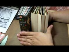 cool mini album.  Good video but would have like verbal instructions.