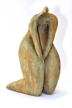 Buy Hakone, a Ceramic on Ceramic by Cristelle Berberian from France. It portrays: Nude, relevant to: serenity, woman, island, meditation, nature Terre cuite patinée