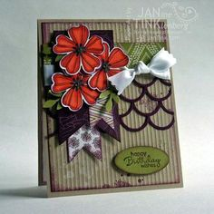Stampin' Up! Flower Shop with Blendabilities