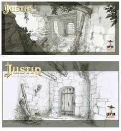 Cenários e props do filme Justin y la Espada del Valor, por Carolina Cuenca | THECAB - The Concept Art Blog