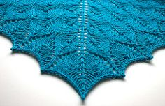 Ravelry: Shetland Triangle Lace Shawl pattern by Evelyn A. Clark