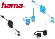 KABEL ZWIJANY USB A-micro USB B/LIGHTNING 1,2 m