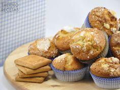 Magdalenas de galletas