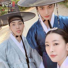 Gong Seung Yeon, Flower Crew, Drama Queens, Paros, Kim Min, Actors & Actresses, Riding Helmets, Kdrama, Sexy Men