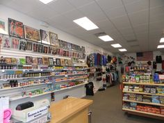 An inside view of our store