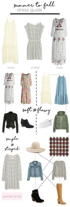 Summer to Fall Dress Guide - zoewithlove.me
