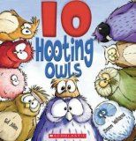 We read the book 10 Hooting Owls, made these owls, and then used them for counting and solving word problems. We placed 10 owls . Owl Books, Animal Books, Bee Book, Book Reviews For Kids, Counting Books, Chalk Talk, Christmas Owls, Christmas Patterns, Felt Owls