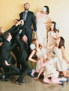 Bridal Party | Studio 1342 | Melanie + Kelcey | YEAH! weddings