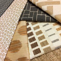 These fabrics look absolutely fabulous, don't they? Check them out, as well as our Silver State and Alaxi Fabric collections, on our website:  https://www.silverstatetextiles.com/  See you there!  Textiles featured (left, top to bottom; Right, top to bottom): Vail Ashes Feline Sand Spots Ginger Spice Ritz Golden Cobblestone Charcoal Cuba Sandstone Jasper Curry