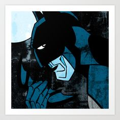Dark Nighty Art Print by Dawlism - $17.68
