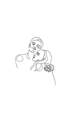 god, the way he holds me, it's like nothing else matters. like time stops and we're the only two in the house. it's just me and him, our breathing in sync. Art Sketches, Art Drawings, Minimal Art, Line Drawing, Aesthetic Wallpapers, Love Art, Art Inspo, Illustration Art, Artsy