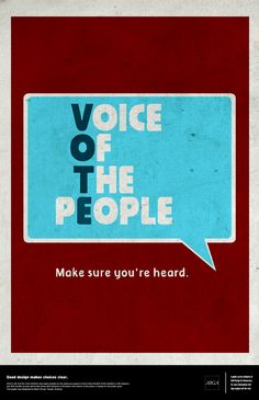 This is a cool acronym for vote. Your vote is your voice in politics. Protest Posters, Political Posters, Protest Signs, Political Campaign, Voting Posters, Protest Art, Student Council Campaign, Student Council Posters, Campaign Posters