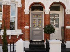 The London Door Company - Front Door Fulham, London - LDC Mushroom ...