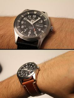 Seiko Black Military Automatic