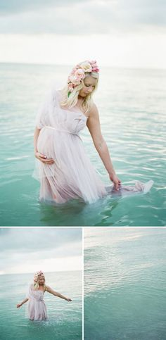 dreamy seaside maternity shoot ok i could never pull this off