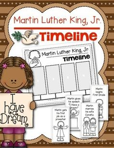Martin luther king timeline of life