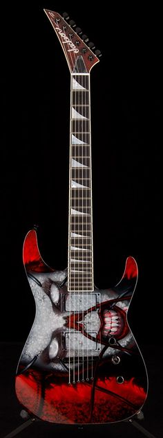 JACKSON Custom Soloist Zombie Girl by Mike Learn