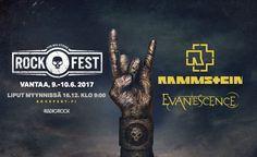 Rockfest 2017 - Vehkala, Vantaa - 9. - 10.6.2017 - Tiketti