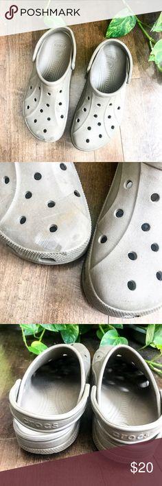 58485e40ff99 Classic mocha light brown men s Croc Sjoes Slip on Bought from a Crocs Store  Mocha brown