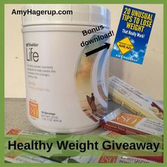 Win a Shaklee Life Shake & Healthy Weight Bars & Tea... IFTTT reddit giveaways freebies contests