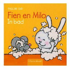 Fien En Milo In Bad