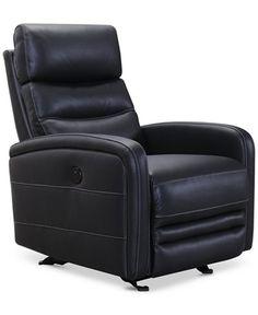 jensen leather power recliner