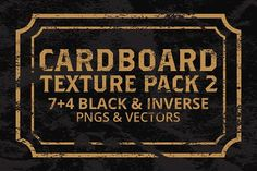 Cardboard Texture Pack 2 by Graphic Boutique on @creativemarket