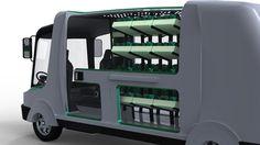 Urban Hydroponic Bus