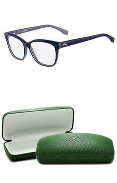 Fashion Eyewear Clear Gles 179244 New Lacoste L2723 424 53mm Blue Eyegles