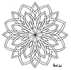 Free Mandala Patterns Fill In Mandala Drawing, Mandala Painting, Dot Painting, Mandala Tattoo, Mandala Art, Celtic Mandala, Mandala Coloring Pages, Coloring Book Pages, Stained Glass Patterns