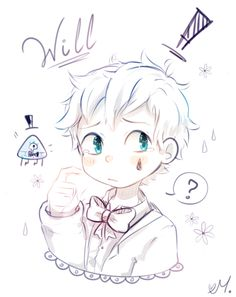Read Will Cipher Kawaii 💙 from the story Imágenes de mi celu! Anime Gravity Falls, Reverse Gravity Falls, Gravity Falls Bill, Reverse Falls, Reverse Pines, Fall Drawings, My Drawings, Will Cipher, Cute Twins