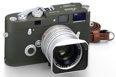Leica MP olive limited edition with special chrome 35 f/1.4 Summilux