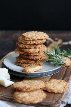 Parmesan Rosemary Cookies