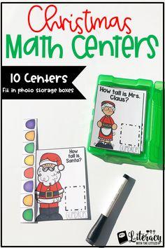 TEN math centers tha