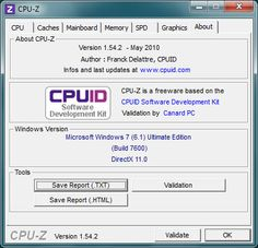 CPUID - System & hardware benchmark, monitoring, reporting    CPU-Z is a freeware utility that gathers information on some of the main devices of your system. CPU-Z does not need to be installed, just unzip the files in a directory and run the .exe. In order to remove the program, just delete the files. The program does not copy any file in any Windows directory, nor write to the registry.