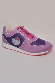 Hello Kitty Serra Shoe In Purple - Beyond the Rack