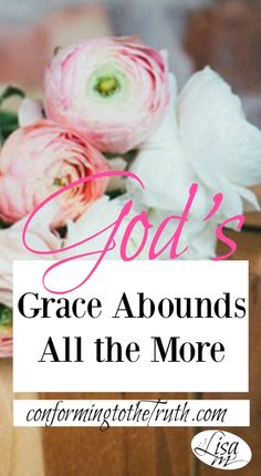 Are you in a place that you may be thinking there is no hope? There is no hope without the grace and mercy of God. But God's grace abounds. Seek Him today!