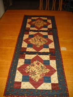 new table runner - QUILTING