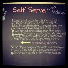 Come Check Out Our Self Serve Dog Wash!  http://www.loyalbiscuit.com/