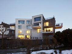 a f a s i a: EM2N appartementen collectief urban-villa kleur volumeschakeling terrassen compositie gevel ruimteschakeling