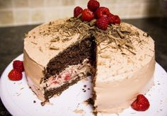 Have a Happy National Raspberry Cake Day with a Chocolate Raspberry Cake!
