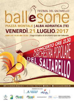 Ball e Sone *Festival del Saltarello* - Alba Adriatica | Eventi Teramo #eventiteramo #eventabruzzo
