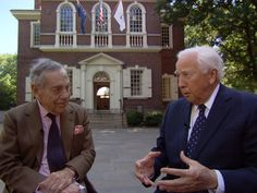 Journey through history with David McCullough - Published on Nov 4, 2012 -  In the hours before Election Day, historian David McCullough reflects on America's past -- including our founding fathers' campaign tactics. Morley Safer reports.