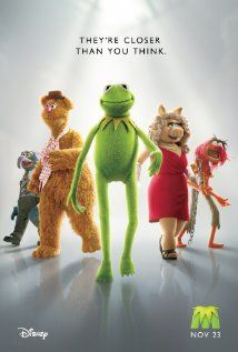 The Muppets (November 23, 2011)  I love this poster need a copy of it to hang above my work station.