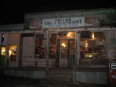 taylors grocery is just outside oxford, mississippi and has the best catfish EVER!!  really =)