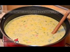 Romanian Food, Russian Recipes, Cheeseburger Chowder, Cooking, Soups, Youtube, Vinaigrette, Juicing, Sweet And Saltines