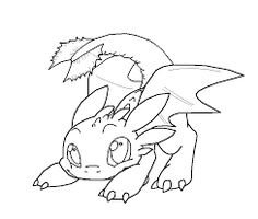 Image result for how to train your dragon coloring pages night fury