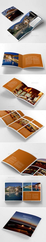 Luxury Brochure Template 12 Pages Corporate Brochures Brochure