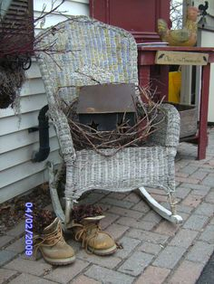 primitive porches | Submitted by willowtreeprimitives 2009
