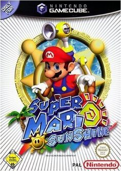 Super Mario Sunshine (Player's Choice) Game for the Nintendo Gamecube (GC). Buy Now from Fully Retro! Super Nintendo, Nintendo 3ds, Super Mario Bros, Nintendo Eshop, Nintendo Switch, Gamecube Games, Wii Games, Games To Play, Super Mario Sunshine